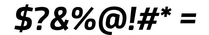 Acephimere Bold Italic Font OTHER CHARS