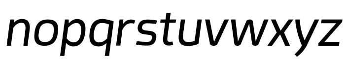 Acephimere Italic Font LOWERCASE