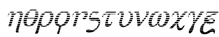 Achilles Gradient Italic Font LOWERCASE