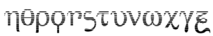 Achilles Gradient Font LOWERCASE