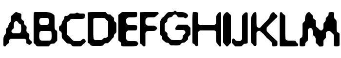 Acid-Bath Font UPPERCASE