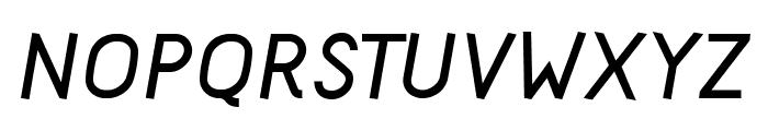 Acid Bold Italic Font UPPERCASE