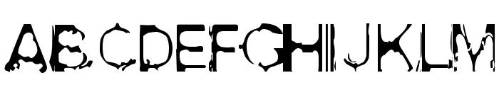 Acid House Font LOWERCASE