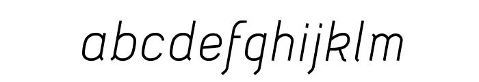 Acid-Italic Font LOWERCASE