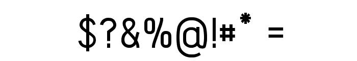 Acid-Medium Font OTHER CHARS