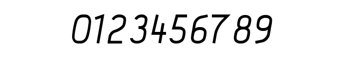 Acid-MediumItalic Font OTHER CHARS