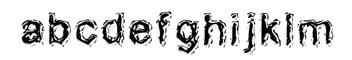 AcidDreamer Font LOWERCASE
