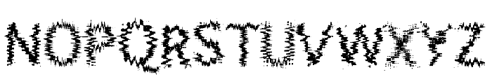 AcidIII Font UPPERCASE