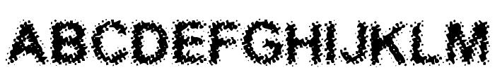 Acidic Font UPPERCASE