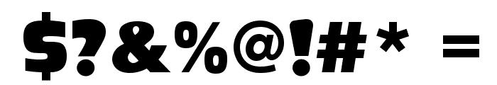 Ackbar Font OTHER CHARS