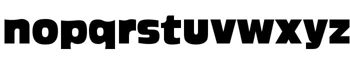 Ackbar Font LOWERCASE