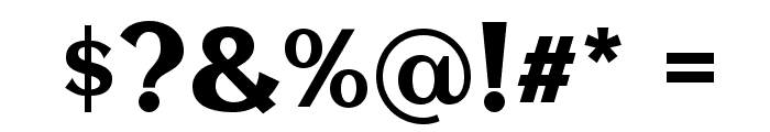 Aclonica Font OTHER CHARS