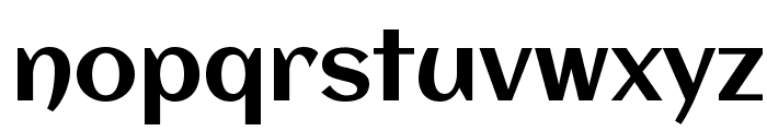 Aclonica Font LOWERCASE