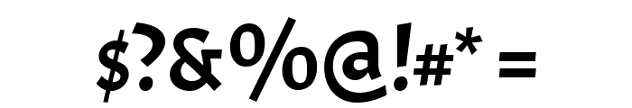 Acme Font OTHER CHARS