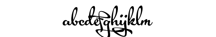 Acryle Script Personal Use Font LOWERCASE