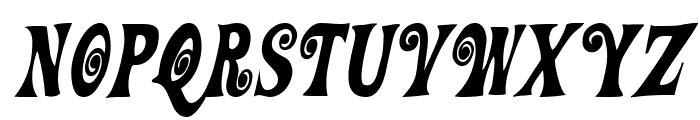 Action Is, Diagonal JL Italic Font LOWERCASE