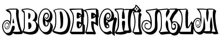 Action Is, Shaded JL Font UPPERCASE