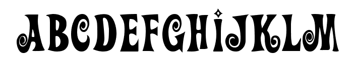 Action Is Font UPPERCASE