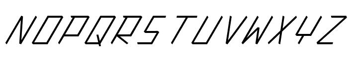 Action Protocol Italic Font UPPERCASE