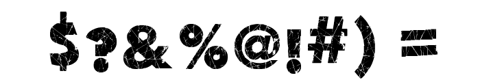 Action of the Time II Font OTHER CHARS