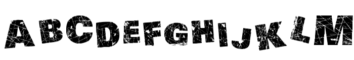 Action of the Time II Font UPPERCASE
