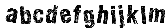 Action of the Time II Font LOWERCASE