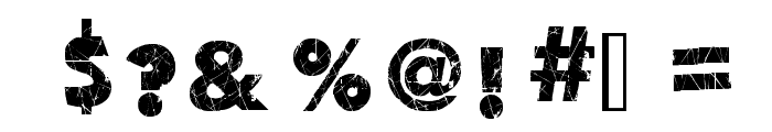 Action of the Time New Font OTHER CHARS