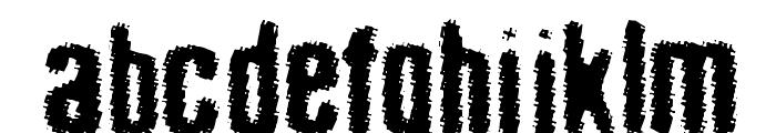 acid_reflux Font LOWERCASE