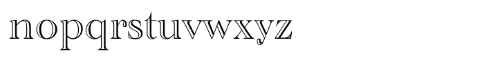 Academy Engraved Regular Font LOWERCASE