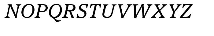 Accolade Light Italic Font UPPERCASE