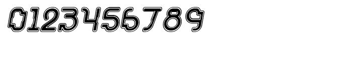 Acetone Collegiate Oblique Font OTHER CHARS