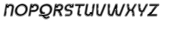 Acetone Collegiate Oblique Font UPPERCASE
