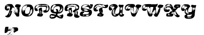 Acrylic Brush Regular Font UPPERCASE