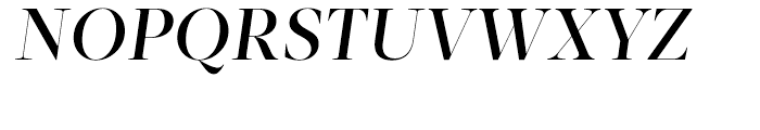 Acta Display Medium Italic Font UPPERCASE