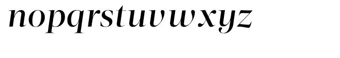 Acta Display Medium Italic Font LOWERCASE