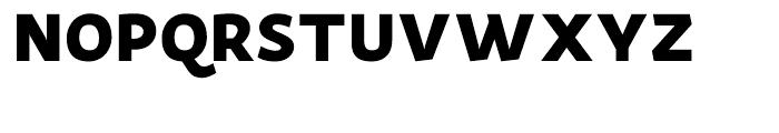 Actium Black Font UPPERCASE