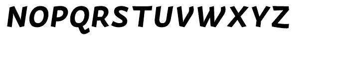 Actium Bold Italic Font UPPERCASE