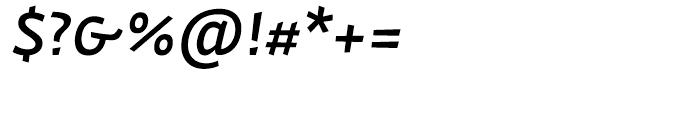 Actium Medium Italic Font OTHER CHARS