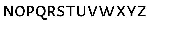 Actium Medium Font UPPERCASE