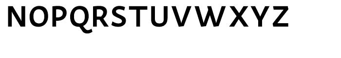 Actium SemiBold Font UPPERCASE