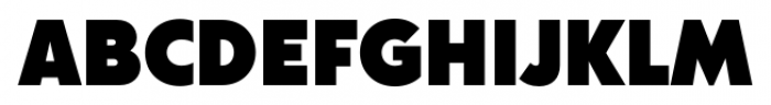 Acre Black Font UPPERCASE