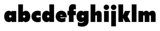 Acre Black Font LOWERCASE