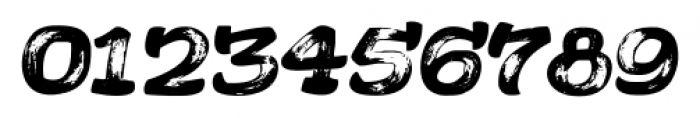 Acrylic Brush Regular Font OTHER CHARS