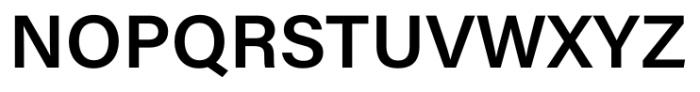 Acumin Pro Semi Bold Font UPPERCASE