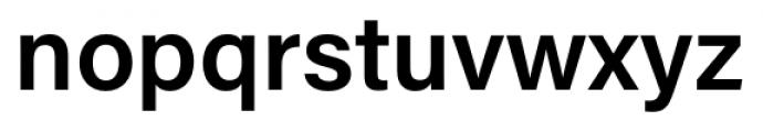 Acumin Pro Semi Bold Font LOWERCASE