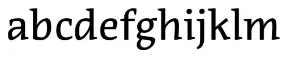 Acuta Book Font LOWERCASE