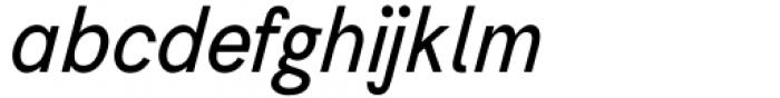 AC Honey Bee Sans Italic Font LOWERCASE