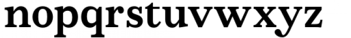 AC Honey Bee Serif Bold Font LOWERCASE