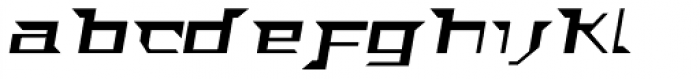 ACT Stern Italic Font LOWERCASE