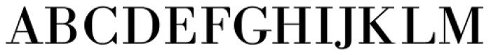 Academia MF Font UPPERCASE